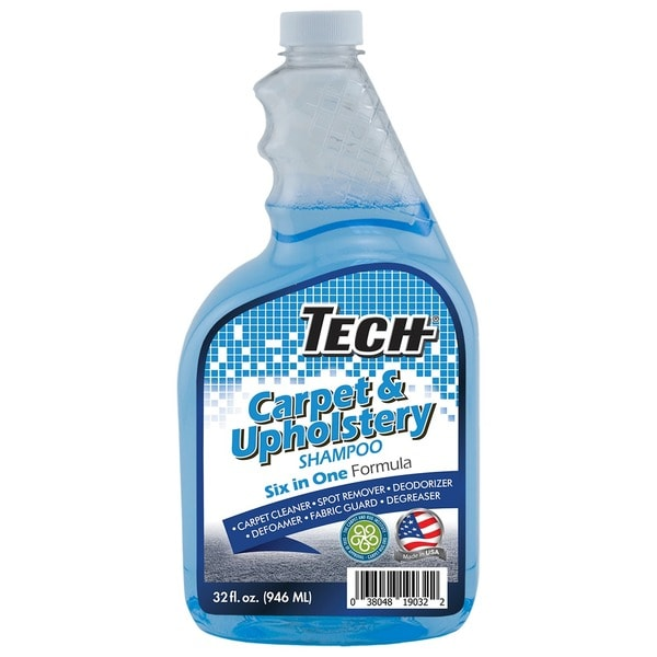 Tech Extraction 32 oz. Upholstery and Carpet Shampoo (Pack of 2)