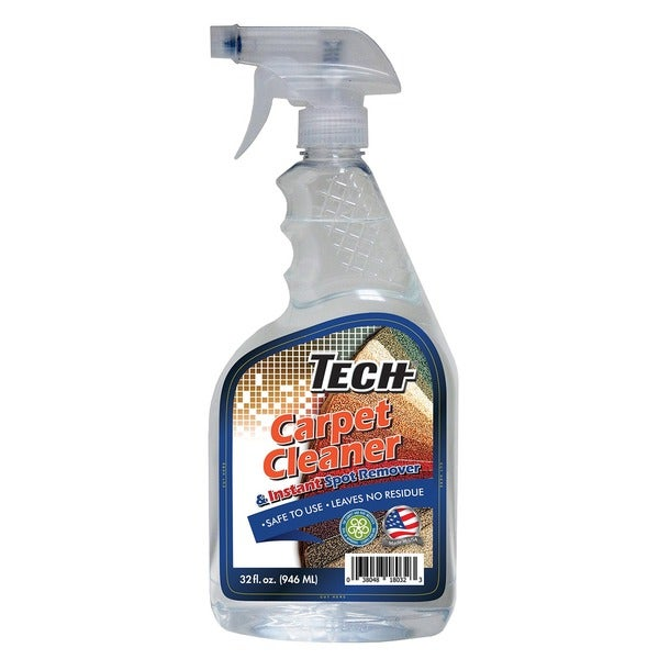 Tech 32 Ounce Odorless Residue Free Carpet Cleaner Pack