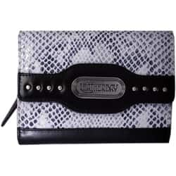 Leatherbay Grey Leather Snake Print Clutch|https://ak1.ostkcdn.com/images/products/5737717/Leatherbay-Grey-Leather-Snake-Print-Clutch-P13470755.jpg?impolicy=medium