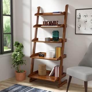furniture of america adelle vintage oak tier display stand - Buy Bookshelves