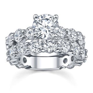 18k White Gold 7 3/4ct TDW Diamond Bridal Ring Set|https://ak1.ostkcdn.com/images/products/5737808/P13470801.jpg?impolicy=medium