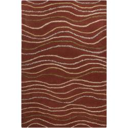 Artist's Loom Hand-tufted Contemporary Geometric Wool Rug (8'x10') - 8' x 10' - Thumbnail 0