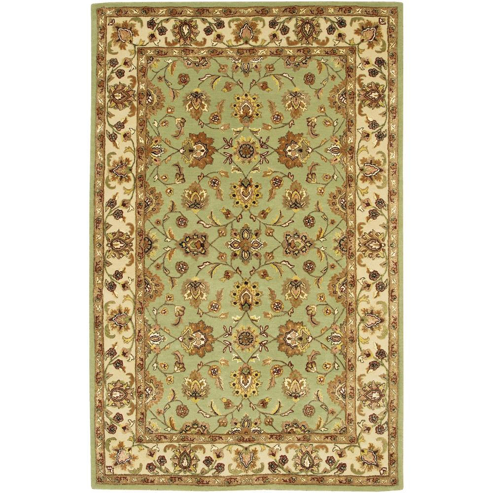 Artist's Loom Hand-tufted Traditional Oriental Rug (5' x 7'6) - multi
