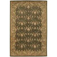 Artist's Loom Hand-tufted Traditional Oriental Rug (5' x 7'6) - 5' x 7'6""