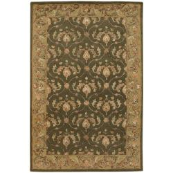 Artist's Loom Hand-tufted Traditional Oriental Rug (7'9 x 10'6) - Thumbnail 1