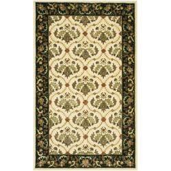 Artist's Loom Hand-tufted Traditional Oriental Rug (5' x 7'6)
