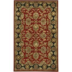 Artist's Loom Hand-tufted Traditional Oriental Rug (7'9 x 10'6) - Thumbnail 2