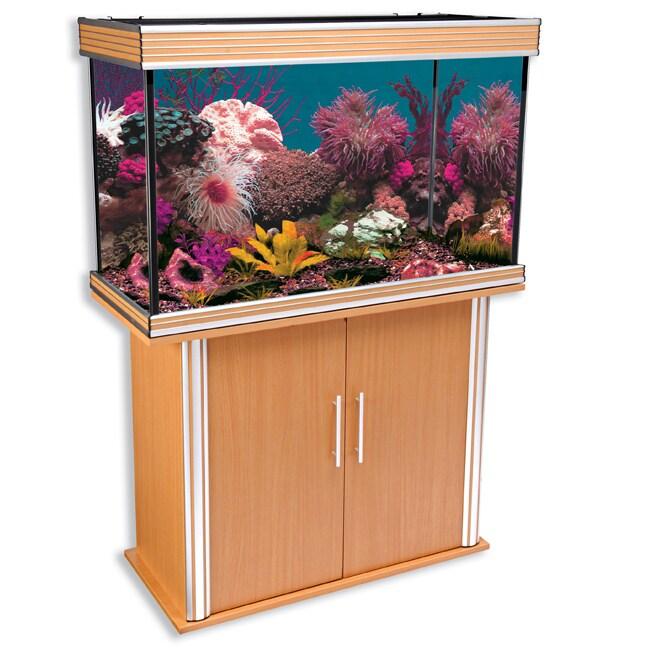Nautilus Collection 58-gallon Aquarium and Stand