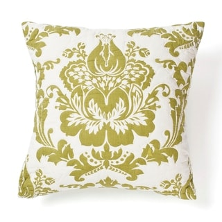 Damask Green Pillow