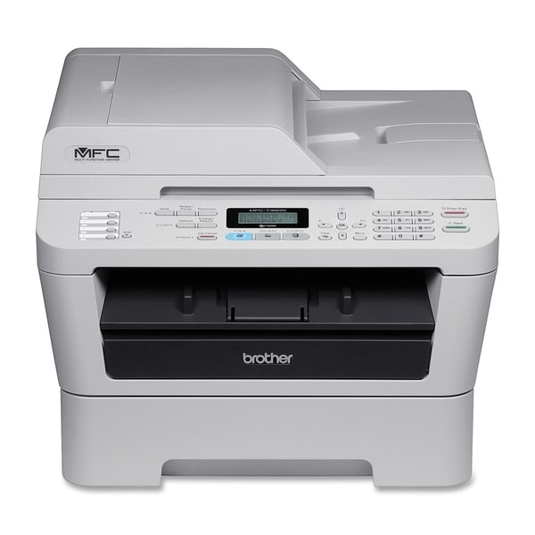Brother MFC-7360N Laser Multifunction Printer - Monochrome - Plain Pa