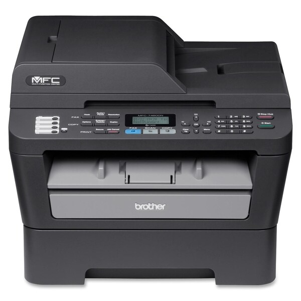 Brother MFC-7460DN Laser Multifunction Printer - Monochrome - Plain P