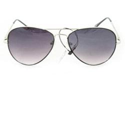 SWG Women's 385B Black and Purple Lens Aviator Sunglasses