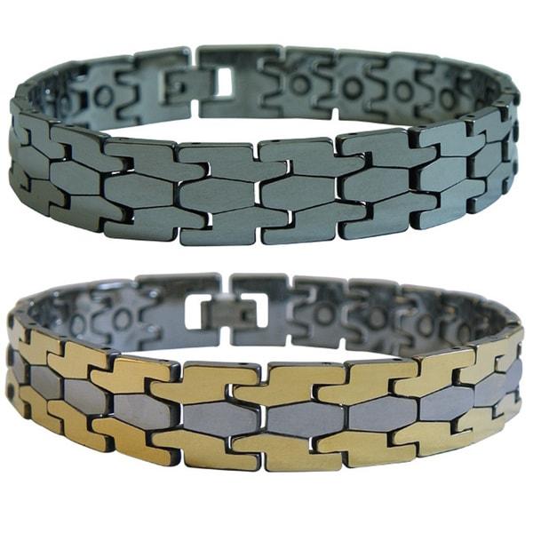 Magnetic Tungsten Puzzle Bracelet