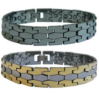 Magnetic Tungsten Puzzle Bracelet|https://ak1.ostkcdn.com/images/products/5740436/P13472974.jpg?impolicy=medium