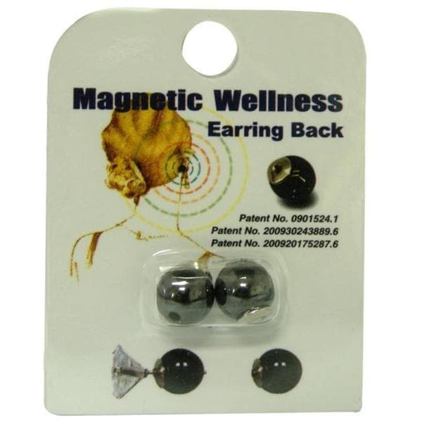 d5ae6c7c5 Shop Magnetic Earring Backs (Pack of 3) - Free Shipping On Orders Over $45  - Overstock - 5740504