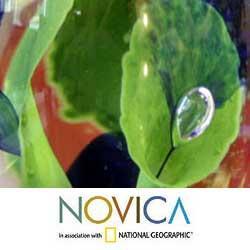 Murano Glass 'Aquarium' Paperweight (Brazil)