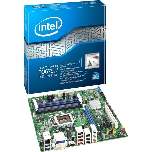 Intel Executive DQ67SW Desktop Motherboard - Intel Chipset - Socket H