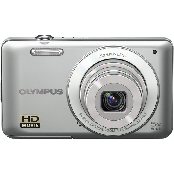 Olympus VG-120 14 Megapixel Compact Camera - Silver
