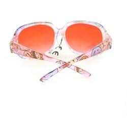 Kid's K3111 Pink Plastic Fashion Sunglasses - Thumbnail 1