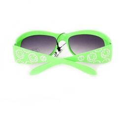 Kid's K5066 Green Plastic Fashion Sunglasses
