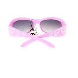 Kid's K5066 Pink Plastic Fashion Sunglasses - Thumbnail 1