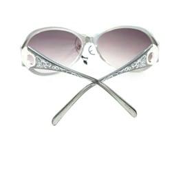 Women's 91008 Silver Fashion Sunglasses