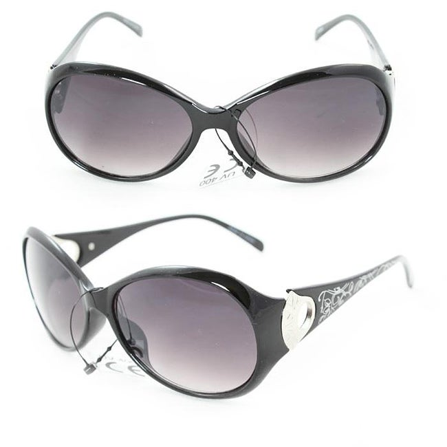 Women's 91008 Black Fashion Sunglasses