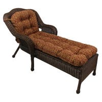 Durable All-Weather U-Shaped Outdoor Chaise Lounge Cushion