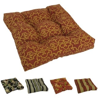 Blazing Needles Tropical Tufted All-weather Outdoor Chair/ Rocker Cushion