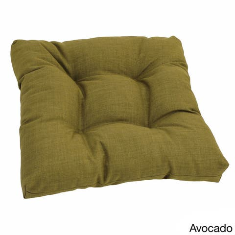 Blazing Needles 20-inch All-Weather Indoor/Outdoor Chair Cushion - 20 x 19
