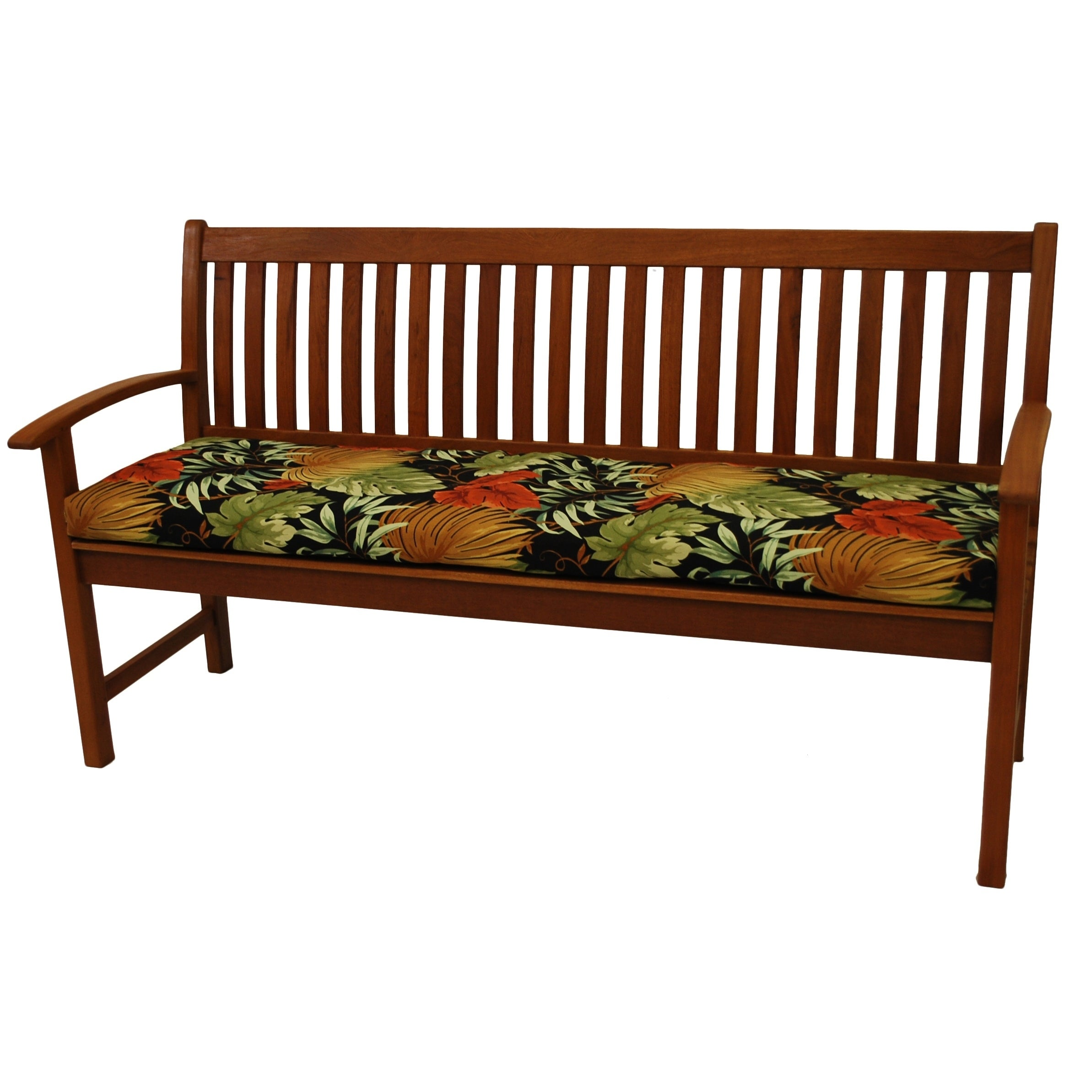 Picture of: Blazing Needles 62 Inch All Weather Indoor Outdoor Bench Cushion On Sale Overstock 5742855