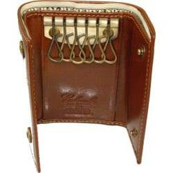 Costello Men's Colombo Leather Tri-fold Key Holder Wallet - Thumbnail 1