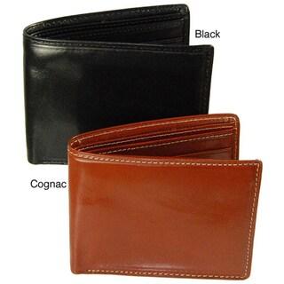 Costello Men's Colombo Leather Bi-fold Wallet