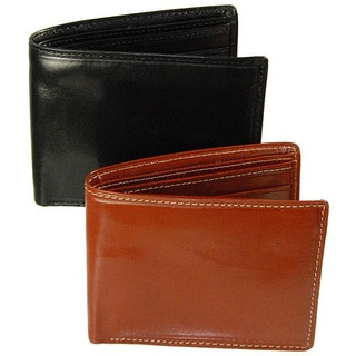 Costello Men's Colombo Leather Bi-fold Wallet