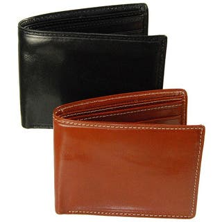 Costello Men's Colombo Leather Bi-fold Wallet|https://ak1.ostkcdn.com/images/products/5742909/P13474795.jpg?impolicy=medium