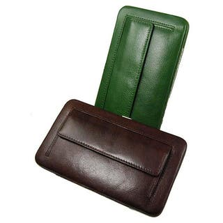 Castello Women's 'Torino' Medium Leather Clutch Wallet (Option: Green)|https://ak1.ostkcdn.com/images/products/5742942/P13474798.jpg?impolicy=medium