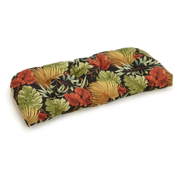 Blazing Needles All-Weather 42-inch U-Shape Bench Cushion