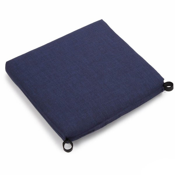 Blazing Needles 20 Inch All Weather Patio Chair Cushion