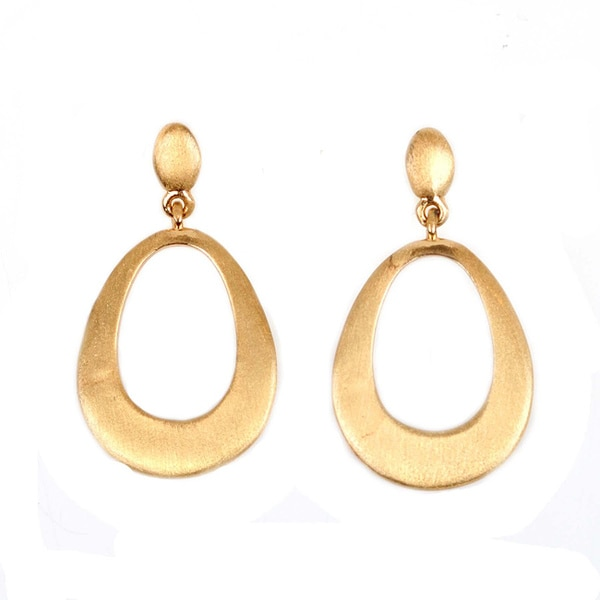 NEXTE Jewelry Goldtone Dangle Earrings With Butterfly Clasps