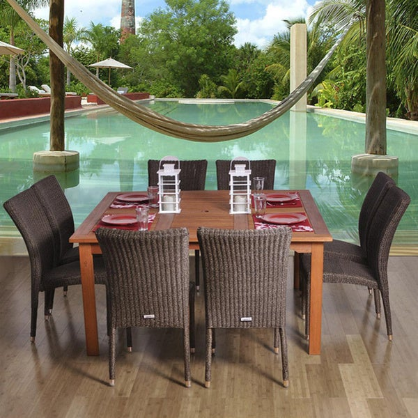 Amazonia Tuscany 9-piece Dining Set