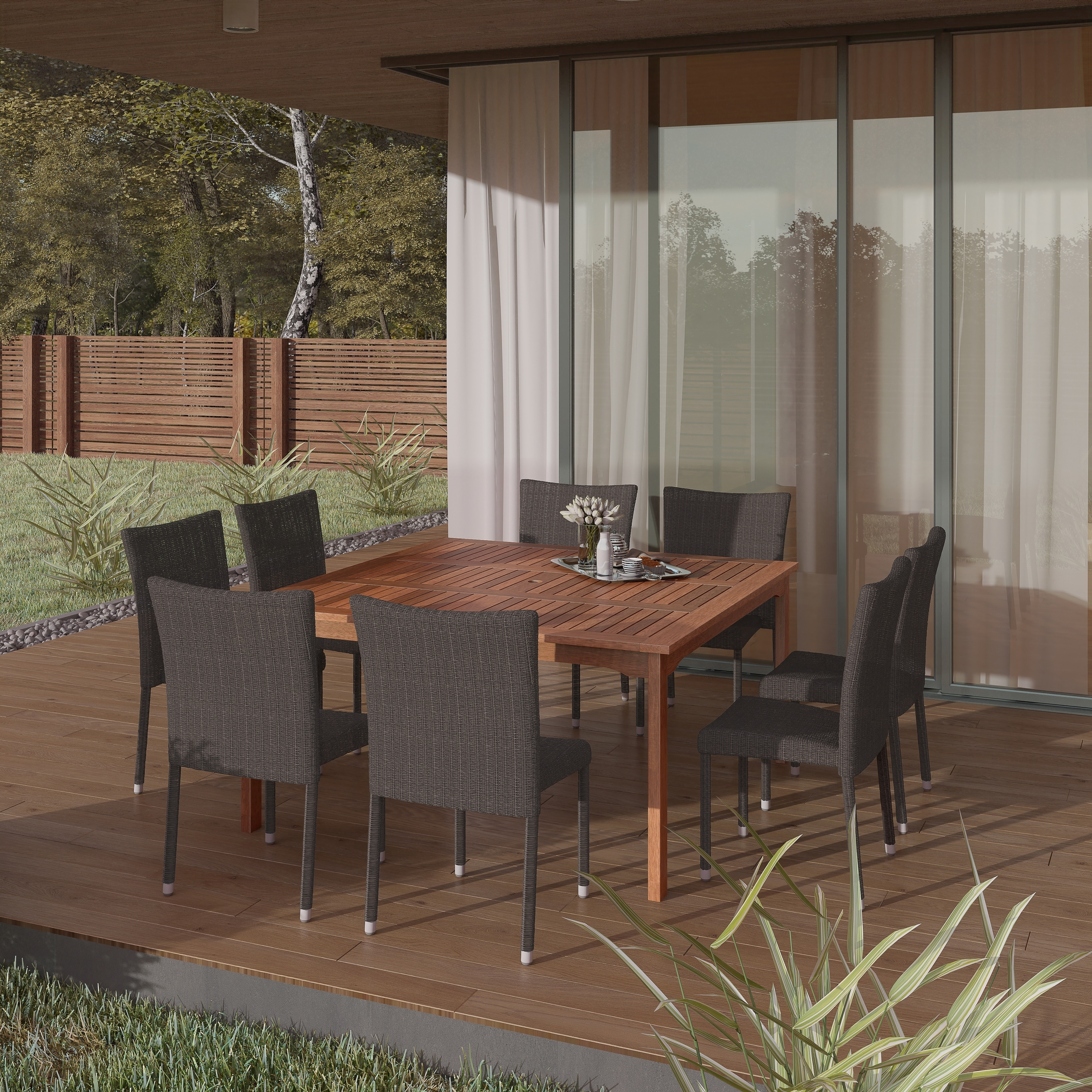 Atlantic Amazonia Tuscany 9-piece Dining Set (Tuscany 9 P...