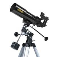 Coleman AstroWatch 400 x 80 Refractor Telescope with Starry Night CD Software