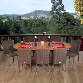 Link to Amazonia Sardinia 9-piece Dining Set Similar Items in Patio Furniture
