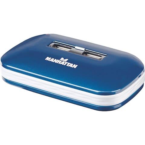 Manhattan 7-Port Hi-Speed USB 2.0 Ultra Hub, Dual Power