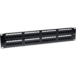 Intellinet Cat5e UTP 48-Port Patch Panel, 2U