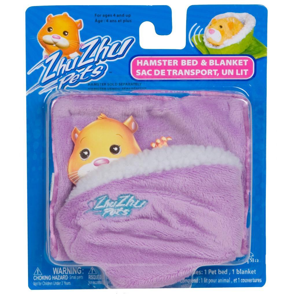 Cepia Zhu Zhu Pets Purple Hamster Bed