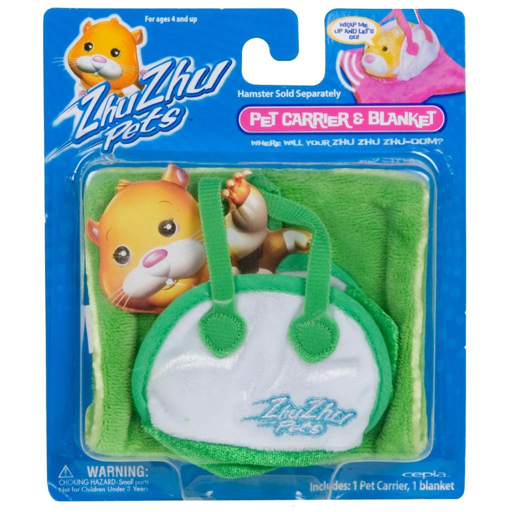Cepia Zhu Zhu Pets Green Hamster Carrier