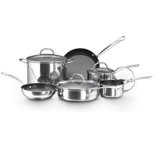 Farberware Millennium Nonstick Stainless Steel 10-piece Cookware Set