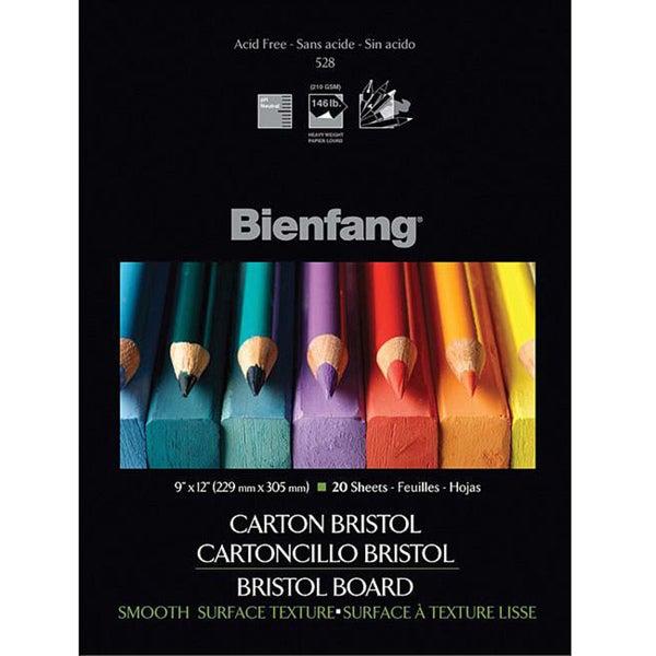Bienfang Bristol Board 20-sheet Paper Pad (9 x12)
