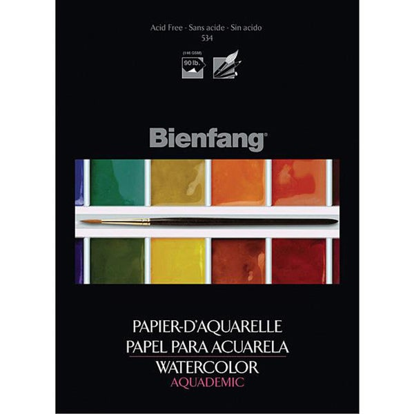 Bienfang Aquademic 9x12 Watercolor Paper Pad